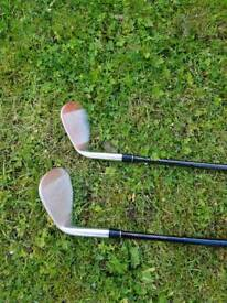 Golf wedge set