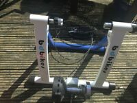 Turbo bike trainer