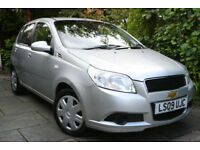Chevrolet ** Aveo ** 1.2 16v 5 Door LS 2009 *only 35k miles* TRADE CLEARANCE