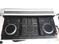 Pioneer CDJ 350's & DJM 350 Mixer