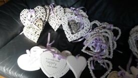 Assorted Heart Decorations