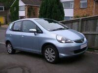 2005 HONDA JAZZ IN BLUE BREAKING FOR PARTS MANUAL 1.4 PETROL