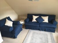 3 seater Sofabed and armchair (sofa workshop)