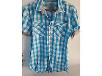 Men's blue shirt For Sale