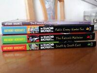 Set of Anthony Horowitz books