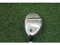 CALLAWAY 26 DEGREE BIG BERTHA HEAVENWOOD 5H 55W GEMS LADIES WOOD