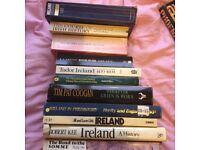 Job lot of 11 Irish / Ulster History Books-Kee, Foster, Lee, Lyons etc