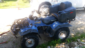 2 quads for sale. Both run perfect.