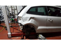 Car Accident Repair Center, painting, panel beating.