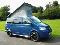 VW T5 4 berth Campervan. Full spec.