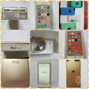 Ipod touch gold 6th gen 32gb