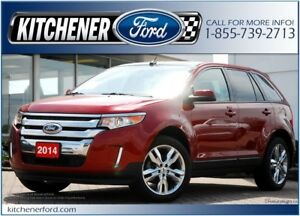 2014 Ford Edge SEL SEL/LEATHER/CAMERA/NAVI/PANO ROOF/HTD SEATS