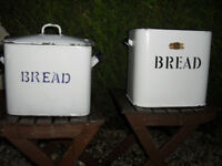 ANTIQUE BREAD BINS
