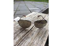 AUTHENTIC Mens PRADA LINEA ROSSA Sunglasses NEW Mirrored AVIATORS Unused