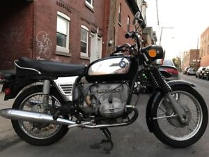 1973 BMW R50/5 All Original Toaster Tank