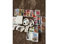 Nintendo Wii complete with 19 games, all accessories and Wii uDraw & the game , excellent condition