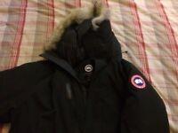 XL Black Canada Goose Langford Parka - Winter Coat