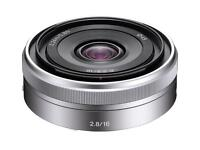 Sony pancake 16mm E mount lens