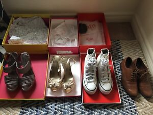 Lot of size 7 shoes - BCBG, Cole Haan, IIJIN, Kenneth Cole