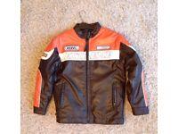 Leather look Rebel bike jacket.