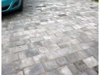Bradstone Driveflair block paving (graphite colour)
