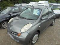 Nissan Micra 1.2 SE (grey) 2003