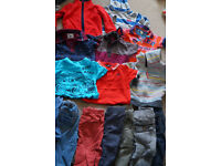 Two large bundles of baby boy clothes size 18-24 months
