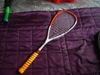 New Carbonlite squash racket.