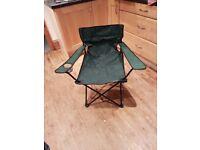 5 x folding camping chairs