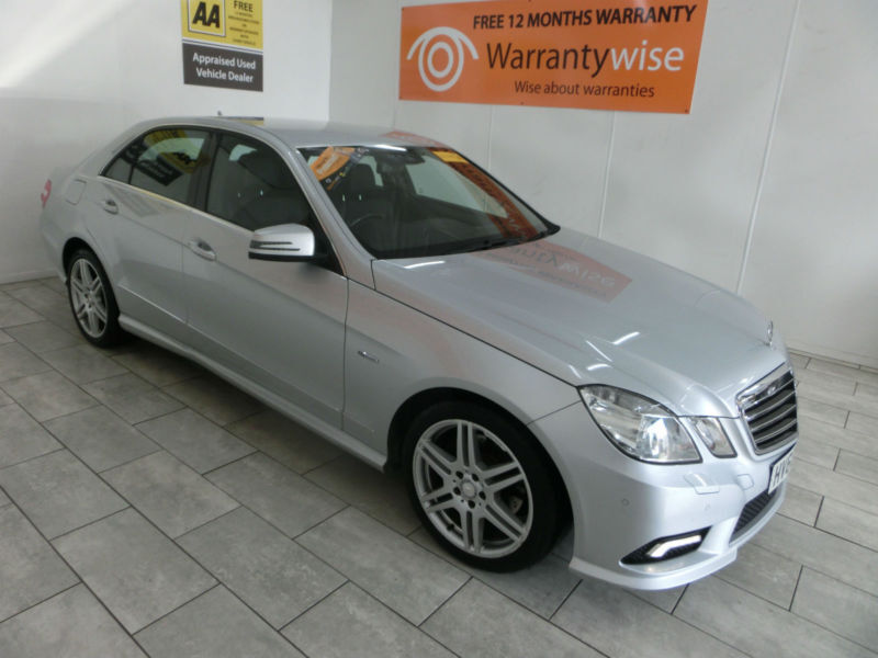 2010 Mercedes-Benz E250 2.1CDI Blue F Auto CDI Sport **BUY FOR ONLY £48 A WEEK**