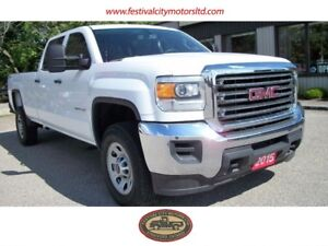 2015 GMC Sierra 2500 CREW CAB | 4X4 | LONG BOX