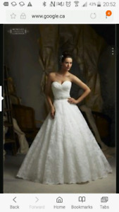 Mori lee 5113 ivory lace wedding dress