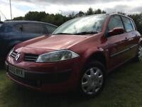RENAULT MEGANE 1.6 2006 + SERVICE HISTORY + 12 MONTHS MOT + PANORAMIC SUNROOF