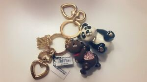 Brand New Juicy Couture Bear keychains
