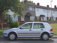 2002 VOLKSWAGEN GOLF 1.6