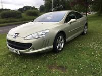 2007 57 PLATE PEUGEOT 407 2.0 HDI 136 SPORT COUPE