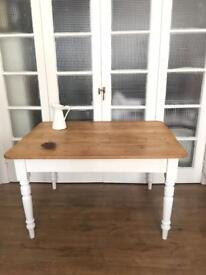 VICTORIAN PINE TABLE FREE DELIVERY LDN🇬🇧FARMHOUSE