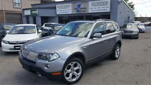 2008 BMW X3 3.0si  w/NAVI & PAN-ROOF