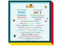 V festival ticket Sunday 20th August