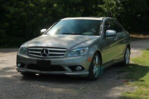 2008 Mercedes-Benz C ONLY 75K | Navi | Sunroof | Leather | Bl...