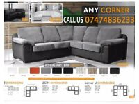 Amy 3+2 and corner sofa suite yANs