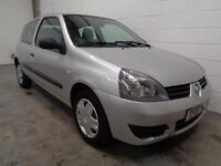 RENAULT CLIO , 2007 REG , LOW MILES + FULL HISTORY , YEARS MOT , FINANCE AVAILABLE , WARRANTY