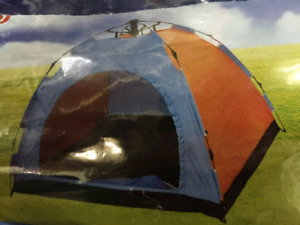 Camping tents & BBQ's