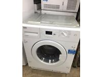 Graded New BEKO WI1573 Integrated Washing Machine 7KG A+ RRP £350