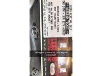 Leeds festival x 2 weekend camping tickets
