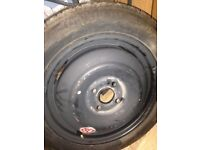Spare wheel ford 4 studs