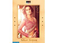 PRODUCT CODE: TFH SILVER SCREEN ISSUE VOL-9 WHOLESALE CELEBRATION SPECIAL INDIAN SAREE