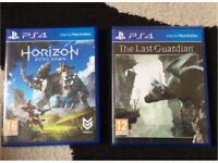 Horizon-zero dawn and the the last guardian