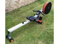 V-fit Tornado Air Rowing Machine in Excellent Condition