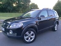 2010 CHEVROLET CAPTIVA 2.0 VCDi LTZ 4x4#7 SEATER#TOP SPEC#SAT NAV#REVERSE CAMERA#LEATHERS#1 OWNER